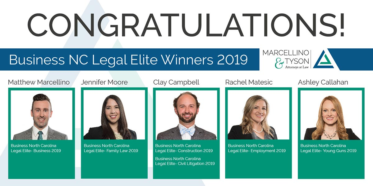 Legal Elite Winners 2019